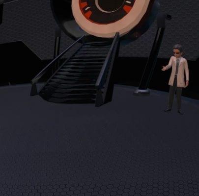 VR world - teach