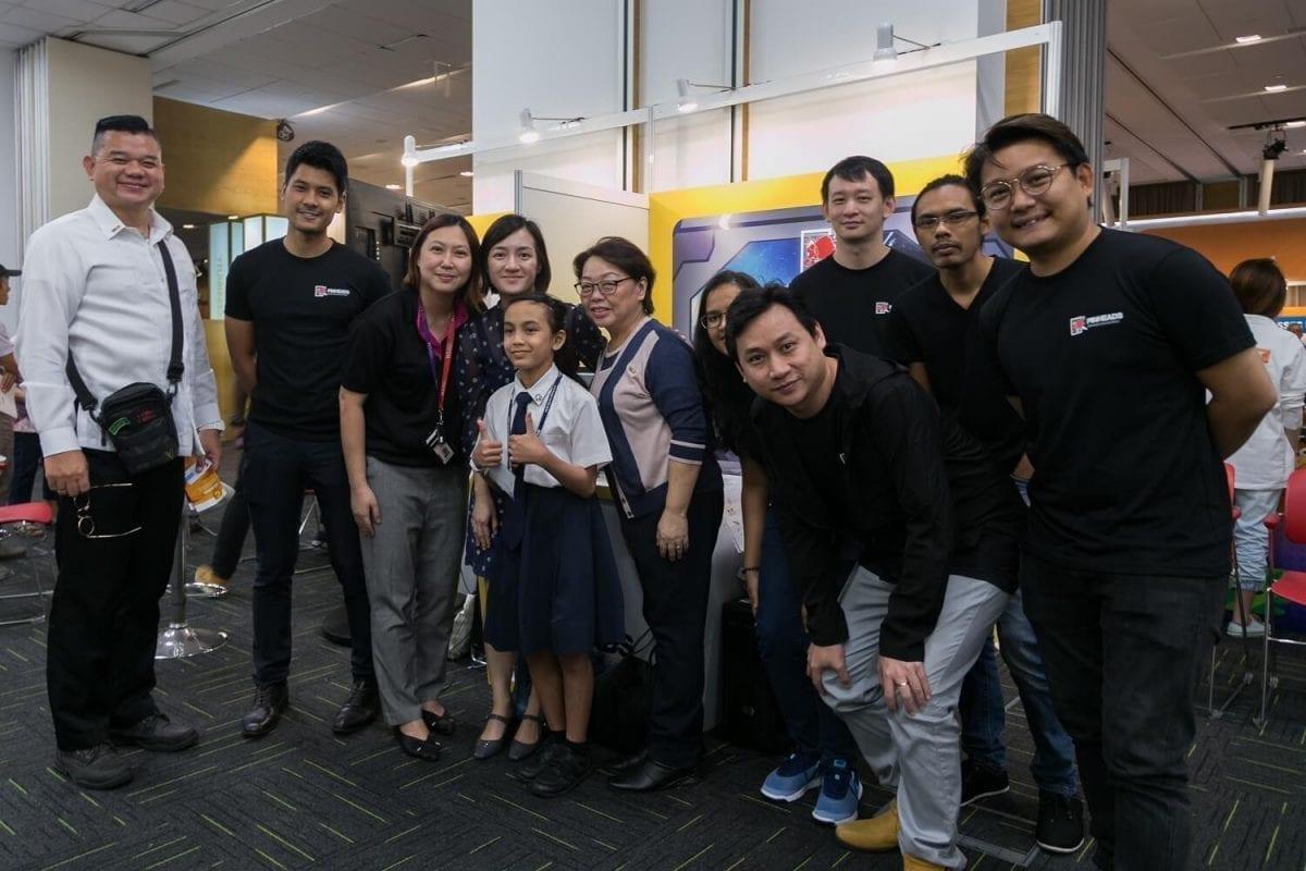 vr educational app team
