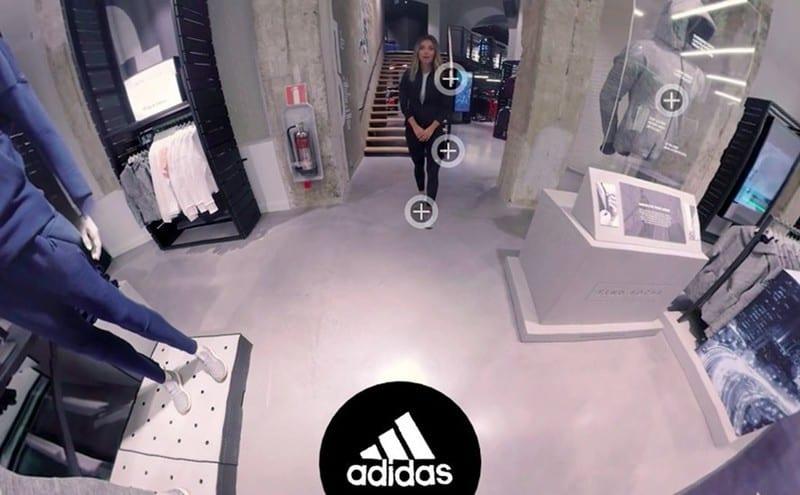 adidas 360 degree shopping experience