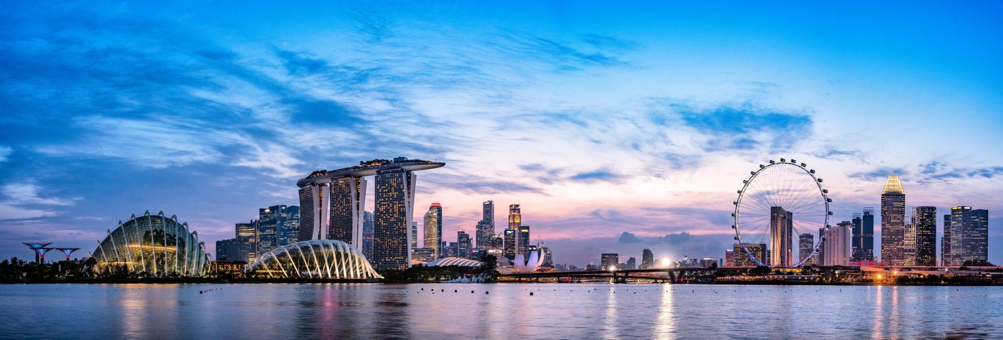 360 Panorama view of Singapore