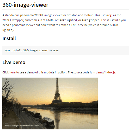 360 Image Viewer
