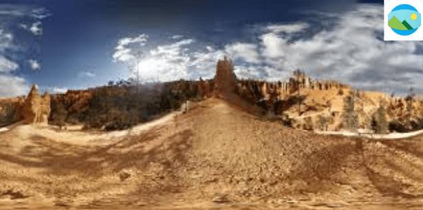 Panoramic image sample of Photo Sphere Viewer