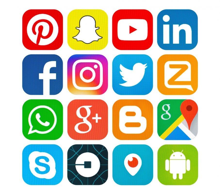 Social Media Platforms Icons