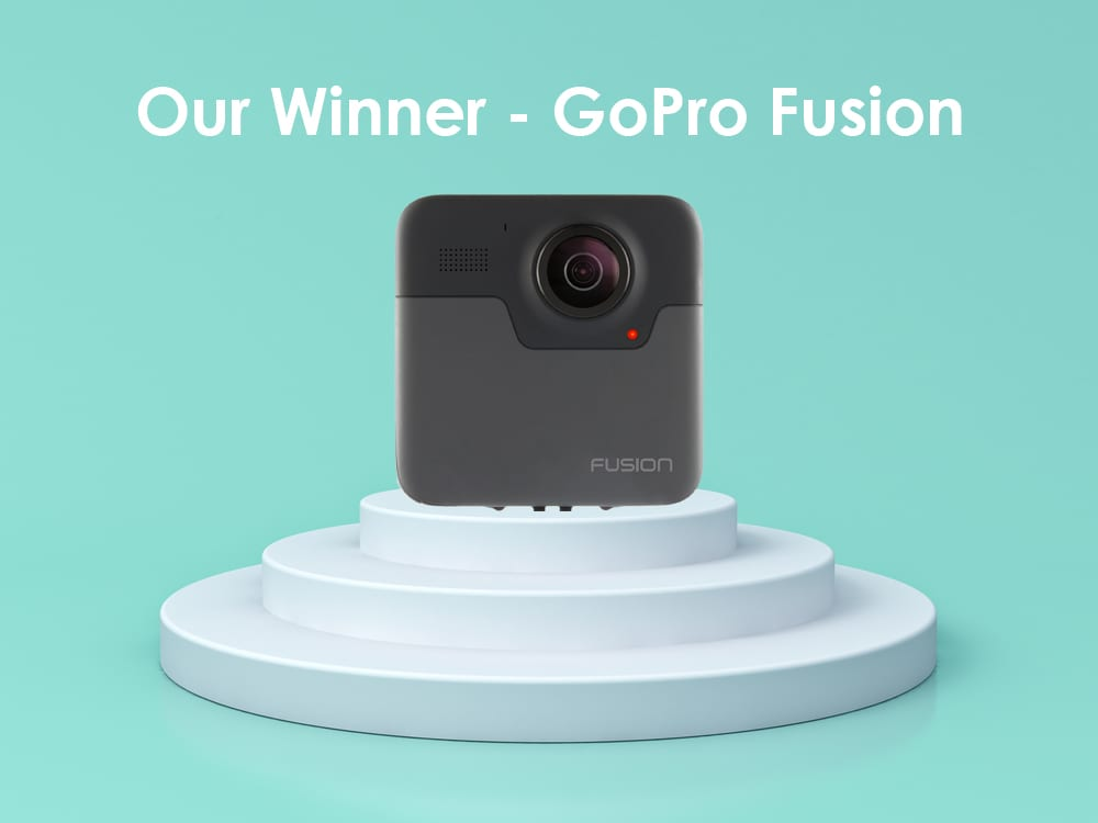 Our Winner GoPro Fusion